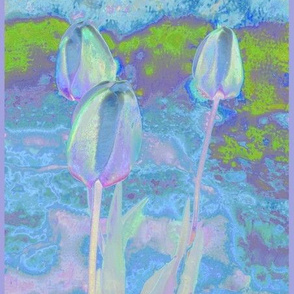 Tulips in Pastels © 2009 Gingezel Inc.