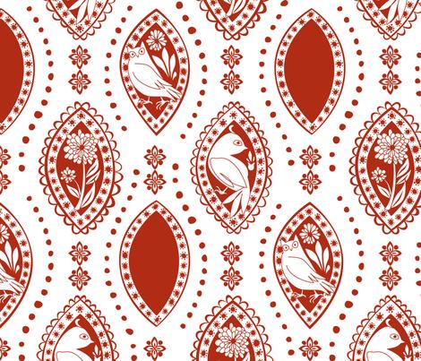 Spanish_Eyes_WHITEBURNT fabric by fuzzyskyfabric on Spoonflower - custom fabric