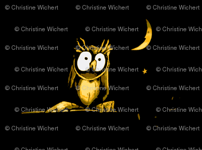 night-night little owl (after dark)