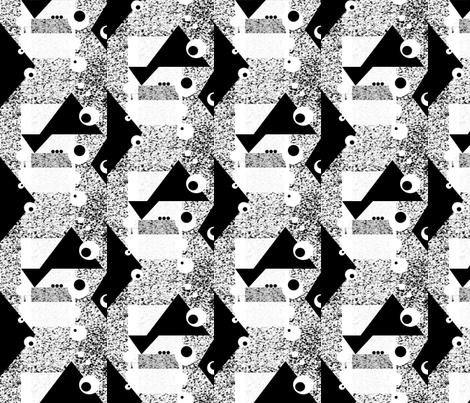 bw_plaid fabric by tairyland on Spoonflower - custom fabric