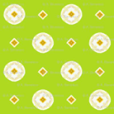 Rojilasha's Dots - Green