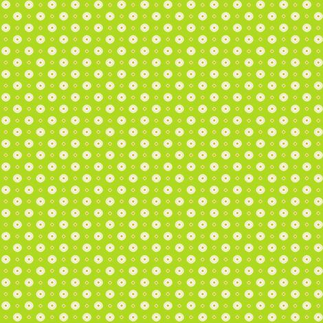 Rojilasha's Dots - Green fabric by siya on Spoonflower - custom fabric