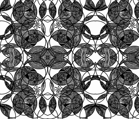 JamJax Positive Negative fabric by jamjax on Spoonflower - custom fabric
