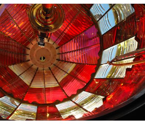 Cape_Arago_Lighthouse_Dome fabric by billichki on Spoonflower - custom fabric