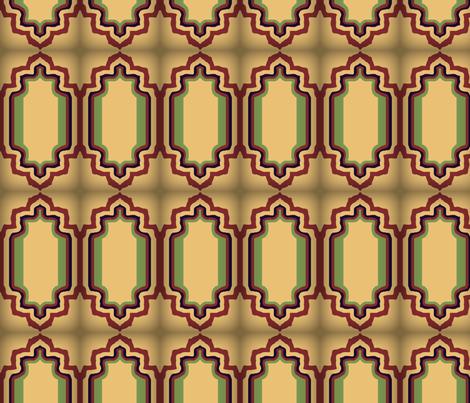 EleBoo Tan Tile fabric by elephant_booty_studio on Spoonflower - custom fabric