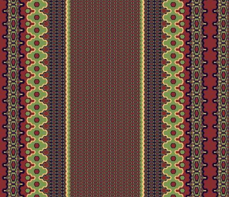 EleBoo Mixed Stripe I fabric by elephant_booty_studio on Spoonflower - custom fabric