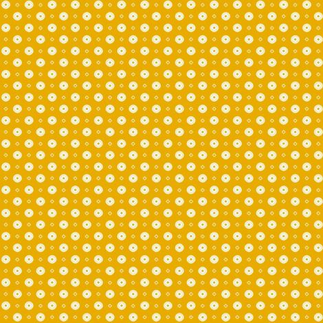 Rojilasha's Dots - Yellow fabric by siya on Spoonflower - custom fabric