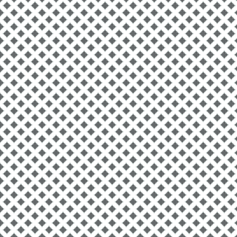 Chiral's Rivets - White fabric by siya on Spoonflower - custom fabric