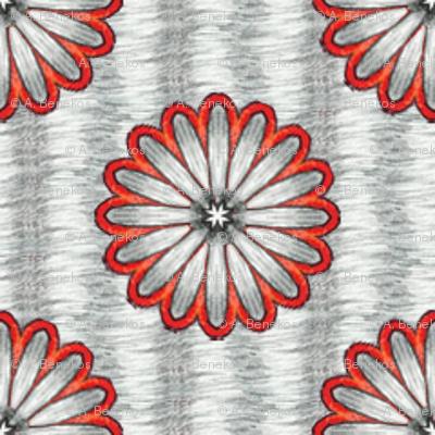 Chiral's Daisies - Silver