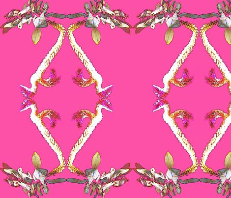 Hawaiian Floral fabric by robin_rice on Spoonflower - custom fabric