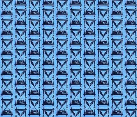hourglass fabric by vidaliah on Spoonflower - custom fabric