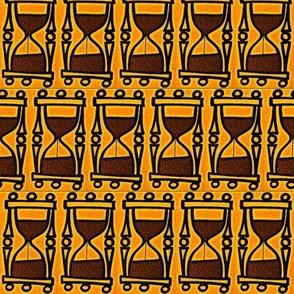 Orange Hourglass