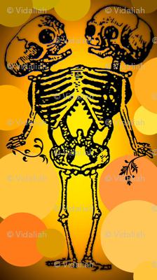 Siamese Twin Skeleton