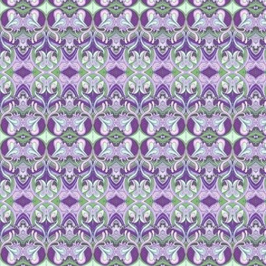 Honeysuckle nouveau violet
