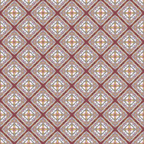 Ponpondi's Diamonds fabric by siya on Spoonflower - custom fabric