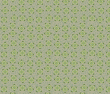 © 2011 Jostled Spikeberries fabric by glimmericks on Spoonflower - custom fabric