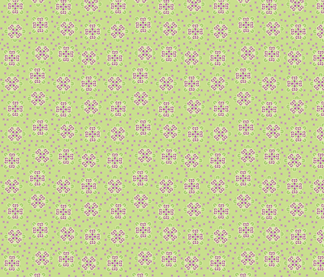 © 2011  Jostled Purple Spikeberries fabric by glimmericks on Spoonflower - custom fabric