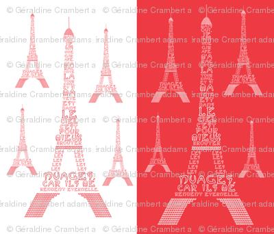 """Poem """"La Tour Eiffel"""" by Maurice Carème"""