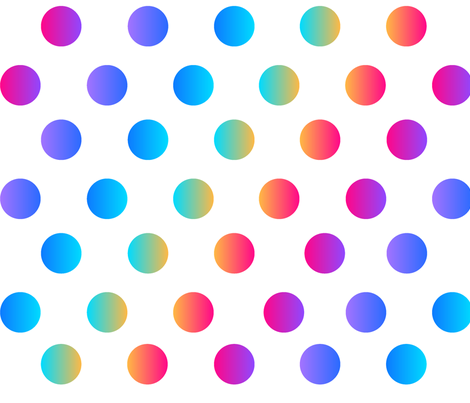 Dotted Gradient fabric by thornbirds on Spoonflower - custom fabric