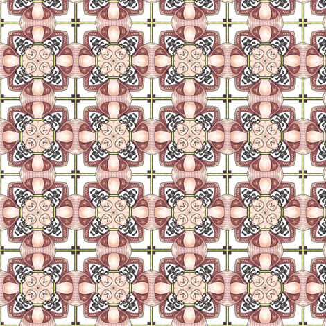 Alien Weave fabric by siya on Spoonflower - custom fabric