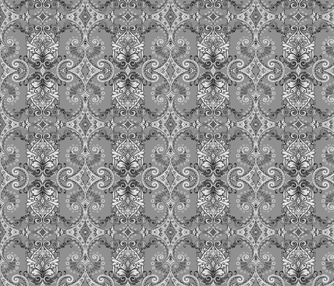 ethnic_wallpapper fabric by thornbirds on Spoonflower - custom fabric