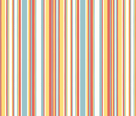 deck stripes fabric by mondaland on Spoonflower - custom fabric