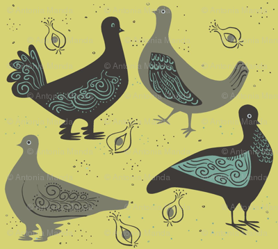 fancy_pigeons_on_gold