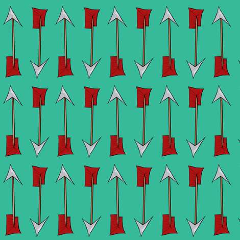 Arrows fabric by pond_ripple on Spoonflower - custom fabric