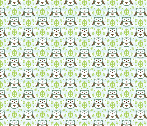 Little Lovelies Colorway #2 fabric by m0dm0m on Spoonflower - custom fabric