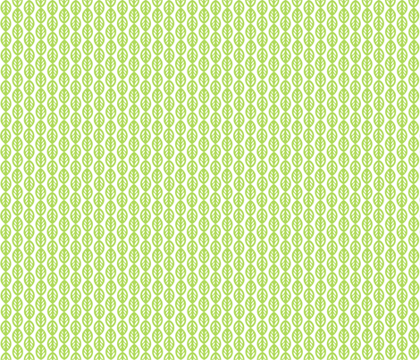 Little Leaves fabric by m0dm0m on Spoonflower - custom fabric