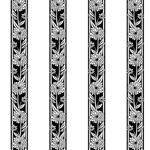 Spanish_Floral_Stripe_WHITEBLACK