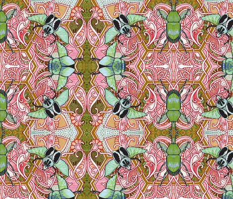 Ugg, Bugs (temporary second copy) fabric by edsel2084 on Spoonflower - custom fabric