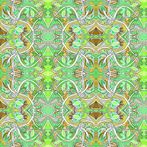 When Our Twisted Paths Cross fabric by edsel2084 on Spoonflower - custom fabric