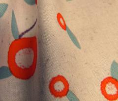 flower neutral fabric