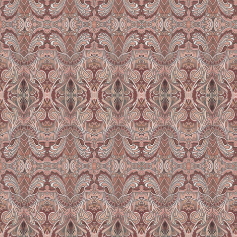 Hot Chocolate with whipped cream fabric by edsel2084 on Spoonflower - custom fabric