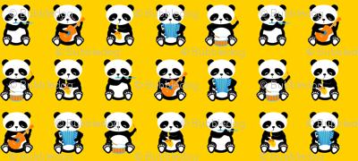 a band o' pandas - small