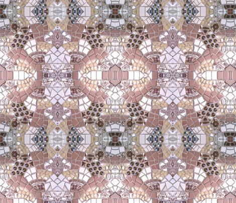 Jamoca Almond Fudge Ice Cream Celebration fabric by jmariewlkr on Spoonflower - custom fabric