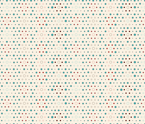 Lil' Dots fabric by twobloom on Spoonflower - custom fabric