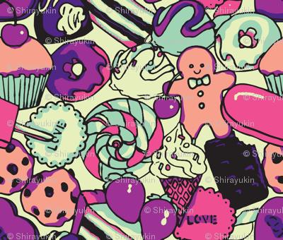 Sugar Galore (Purple)