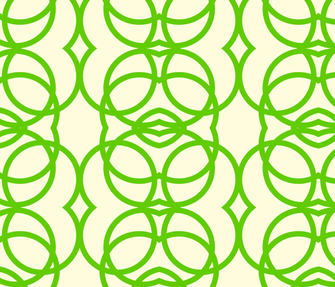 green_apple_circles fabric by holli_zollinger on Spoonflower - custom fabric