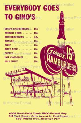 Everybody Goes to Gino's hamburger stand