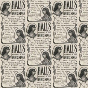 Hall's Hair 1907 ad