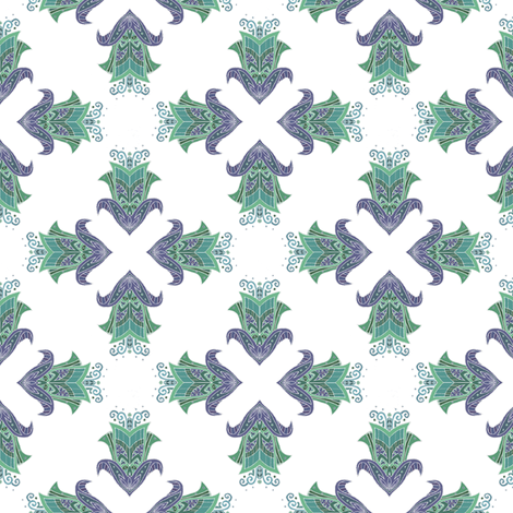 Tulipp fabric by atomic_bloom on Spoonflower - custom fabric