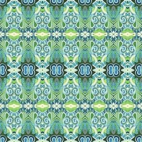 Fairy Forest Floor horizontal stripe
