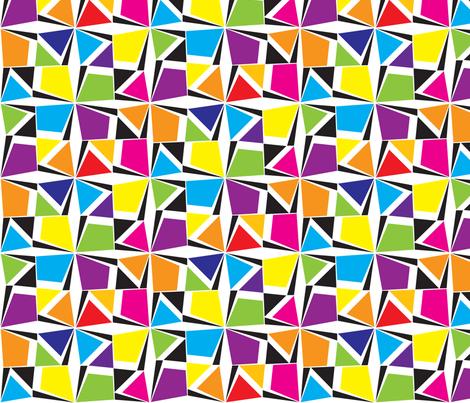 GeometricBrights fabric by ghennah on Spoonflower - custom fabric