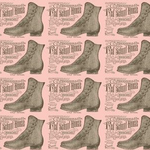 Victorian boots advertisment