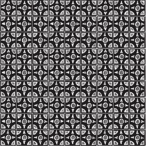 brix_11-w/bk fabric by cheeseandchutney on Spoonflower - custom fabric