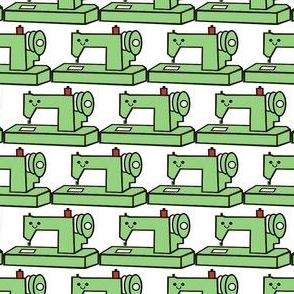 Little Green Sewing Machine