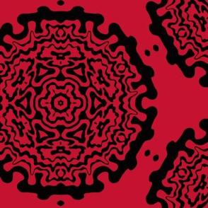 red ornamentic circles 2