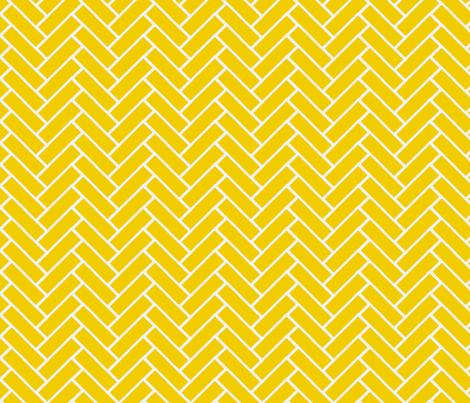 herringbone gold and white fabric by ninaribena on Spoonflower - custom fabric
